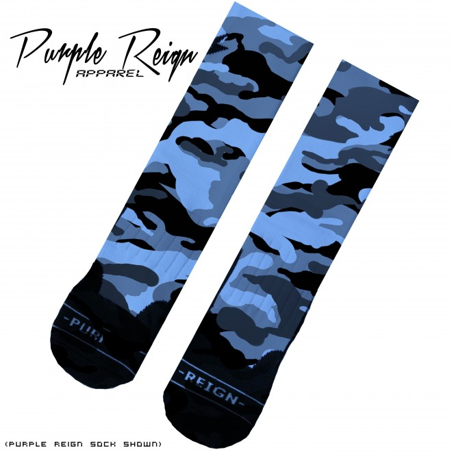 "Nike Elite Socks Camo Nike Elite ""navy Camo"" Socks"