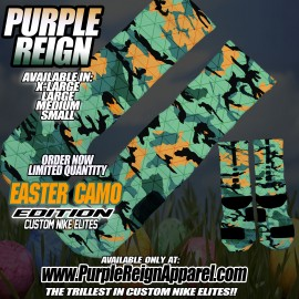 easter camo socks