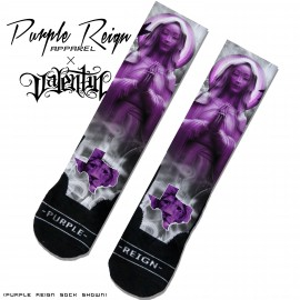 grape purple reign socks new valentin  copy