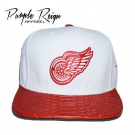 Red Wings Python hat