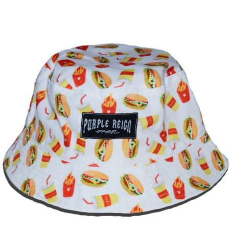 burger-white-purple-reign-bucket-hat