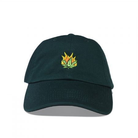 420 hat no front logo